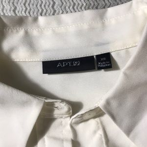 Apt. 9 Tops - Ivory Blouse
